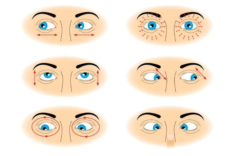 vision therapy eye exercises